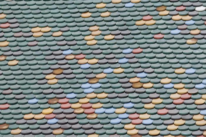 Škridle a ich farby